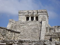 Ruin. Maya ruin in Tulum, Mexican Caribbean Royalty Free Stock Photography