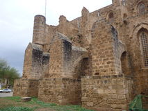 Ruin of mediavel gothic church in famagusta Stock Photography