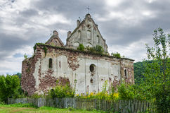 Ruin of a medieval church Royalty Free Stock Photo