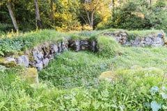Ruin of Mollerod Castle Royalty Free Stock Photo