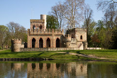 Ruin of the Mosburg Castle Royalty Free Stock Photo