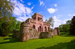 Ruin of the Mosburg Castle Royalty Free Stock Images