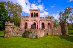Ruin of the Mosburg Castle Stock Photo