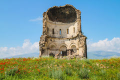 Ruin in mountain Royalty Free Stock Image