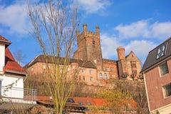 Ruin named Vorderburg Royalty Free Stock Photo