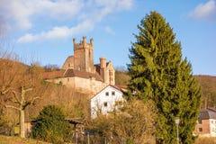 Ruin named Vorderburg Stock Photo
