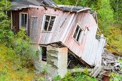 Ruin near river Royalty Free Stock Photo