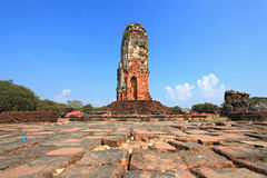 Ruin Of Old Temple In Thailand Stock Photography