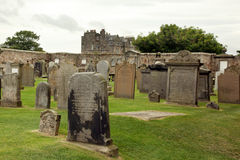 Ruin Of St Andrews Cathedral In St Andrews Scotland Royalty Free Stock Images