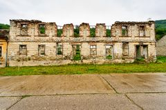 Ruin of an old house abandoned Royalty Free Stock Photo