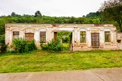 Ruin of an old house abandoned Royalty Free Stock Photos