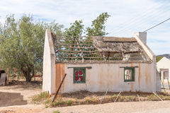 Ruin of an old house in McGregor. A small town in the Western Cape Province Stock Images