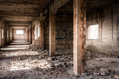 Ruin of an old industrial Building, Majorca Stock Images