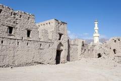 Ruin of an old Omani village Stock Photo