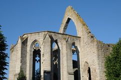 Ruin of an old and picturesque church in Visby Royalty Free Stock Photos