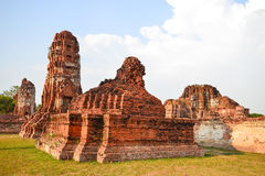 Ruin pagodas. Large ruin pagodas in strong sunlight Stock Photography