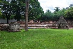 Ruin in Phra Narai Ratchaniwet Stock Image