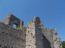 A ruin in Polace on Mljet in Croatia Stock Photo