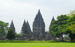Ruin of Prambanan Candi Temple Royalty Free Stock Photo