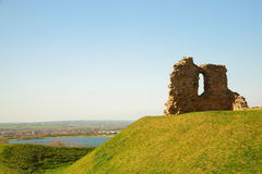 Ruin of Sandal castle. Royalty Free Stock Photography