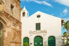 Ruin of the Santo Domingo convent, Casco Viejo, Panama City, Pan Stock Photography