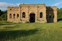 Ruin of smelting plant, Frantiskova Huta, Slovakia Stock Photo