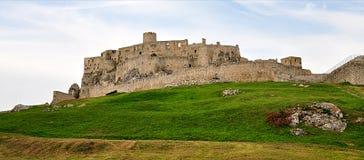 Ruin, Spis Castle, Slovakia. Old ruin, Spis Castle, Slovakia stock image