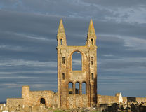 Ruin of St Andrews Cathedral in St Andrews Royalty Free Stock Image