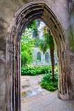 Ruin of St-Dunstan-in-the-East in London Stock Photo