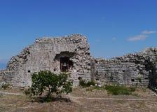 Ruin of St Michael castle on Ugljan Royalty Free Stock Photo