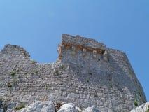 Ruin of St Michael castle on Ugljan Royalty Free Stock Photography