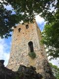 Ruin. St Per church ruin in Sigtuna Royalty Free Stock Image