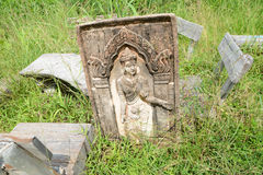Ruin statue Stock Photo
