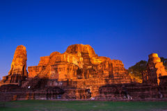 Free Ruin Temple In Thailand Stock Photo - 33488470