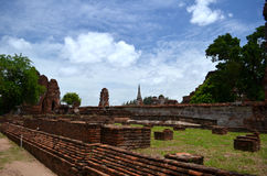 Ruin temple in Thailand Stock Photo