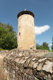 Ruin tower Burg Lowenstein. Royalty Free Stock Photography