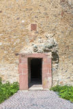 Ruin tower Burg Lowenstein. Royalty Free Stock Photo