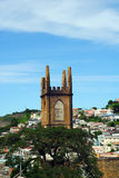 Ruin of Tower in Caribbean Royalty Free Stock Photography