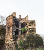 The ruin tower of Heidelberg castle in Heidelberg Royalty Free Stock Photos