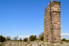 Ruin tower Royalty Free Stock Photography