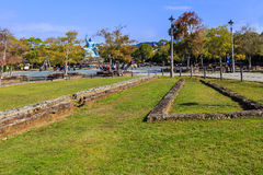 Ruin of Urakami Branch of Nagasaki Prison Royalty Free Stock Photo