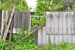 Ruin wall Stock Photos