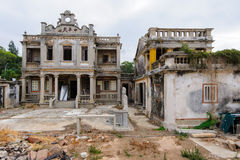 Ruin of western-style house Stock Images