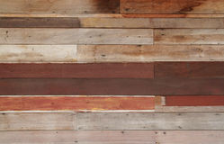 Ruin wood plank  wall Royalty Free Stock Image