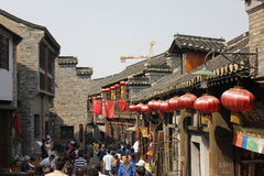 The ruin in zhenjiang Stock Images