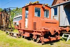 Ruina abandonada del tren Fotos de archivo libres de regalías