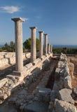 Ruina antic de Chipre Grecia Imagen de archivo libre de regalías