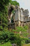 Ruina antigua de la arcada, North Yorkshire Fotos de archivo libres de regalías