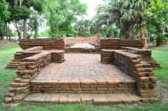 Ruina antigua de la pagoda (Chedi) Fotos de archivo libres de regalías