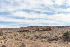 Ruina bydlę klauzura blisko Middelpos zdjęcie royalty free